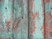 Schäbiger hölzerner Hintergrund in der Knickente, Blau, braun lizenzfreie stockbilder