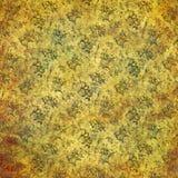 Schäbiger Hintergrund der Weinlese mit noblen Mustern Stockbild