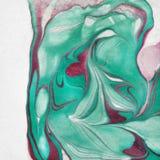 Schäbiger schicker Hintergrund mit marbeled Farbe stock abbildung