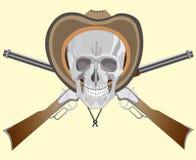 Schädel-Cowboy Stockfotos