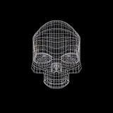 Schädel - Kopf Stockbild