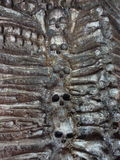 Schädel und Knochen Stockbilder