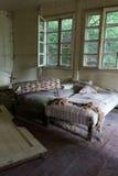 Schädigende Betten Stockfotografie