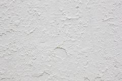 Schädigende strukturierte weiße Wand Gebrochenes Material aufbau Lizenzfreie Stockbilder
