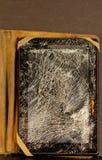 Schädigende Tablette Stockfotografie