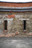 Schädigende Wand Stockfotos