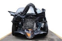 Schädigendes Auto. Lizenzfreie Stockfotografie