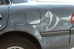 Schädigendes Auto Lizenzfreie Stockbilder
