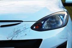 Schädigendes Auto Stockfotografie