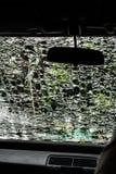 Schädigendes Innereauto des Glases (Autowindschutzscheibe) Lizenzfreie Stockfotografie