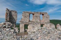 Schädigendes Schloss stockbilder