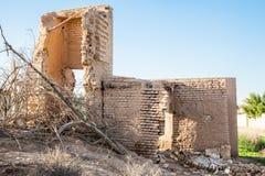 Schädigendes verlassenes Haus Lizenzfreie Stockfotografie