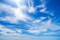 Schäfchenwolken stockfotos