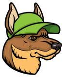 Schäfer Head Logo Stockfotos