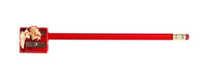 Schärfen des Bleistifts Lizenzfreie Stockbilder