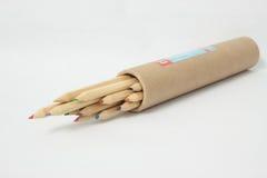 Schärfen Sie Bleistifte Stockfoto