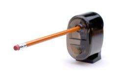 Schärfen Sie einen Bleistift Lizenzfreies Stockbild