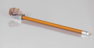 Schärfen von Bleistiften Stockfotos