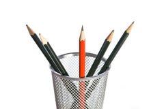 Schärfster Bleistift im Potenziometer Lizenzfreie Stockbilder
