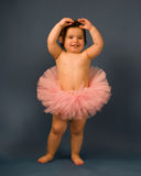 Schätzchen-Ballerina Lizenzfreies Stockbild