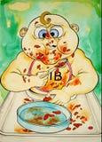 Schätzchen-Bohnen Stockfoto