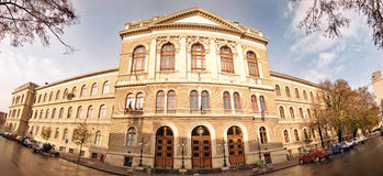 Schätzchen-Bolyai Universität, Klausenburg, Rumänien Stockbilder