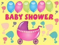 Schätzchen-Dusche Lizenzfreie Stockbilder