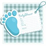 Schätzchen-Dusche-Einladung Lizenzfreies Stockfoto