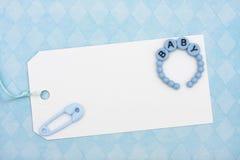Schätzchen-Dusche-Geschenk stockbilder