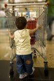 Schätzchen-Einkaufen Stockfoto