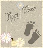 Schätzchen-Füße Stockbild