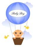 Schätzchen im baloon Stockbild