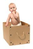 Schätzchen im Kasten stockbild