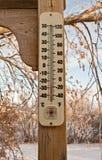 Schätzchen, seine kalte Außenseite Lizenzfreies Stockfoto