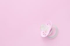 Schätzchen soother im Rosa Stockfotos