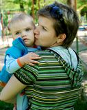 Schätzchen und Mamma Lizenzfreie Stockfotos