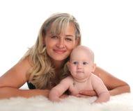 Schätzchen und Mutter 2 lizenzfreie stockfotos