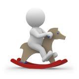Schätzchen und Pferd Lizenzfreies Stockbild