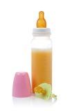 Schätzchenflasche und Friedensstifter lizenzfreie stockfotos