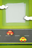 Schätzchenkarte Stockbilder