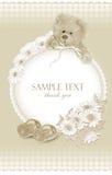 Schätzchenkarten mit Teddybären Lizenzfreie Stockbilder