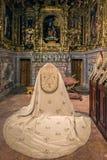 Schätze der patriarchalischen Kapelle in Lissabon Stockbild