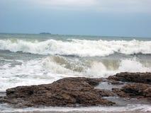 Schäumende Welle Stockbilder