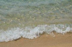 Schäumende Welle Stockbild
