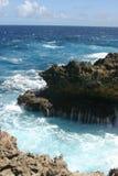 Schäumender Ozean lizenzfreie stockfotos