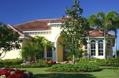Schön nach Hause landschaftlich verschönert Stockfoto