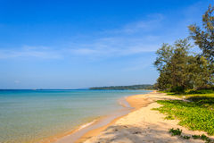 Schön vom BaiDai-Strand stockbilder