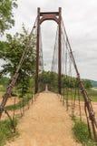 Schön von der Seilbrücke in Nationalpark Kaeng Krachan, Phetcha Lizenzfreie Stockfotografie