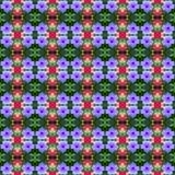 Schön von hellen seamles Ruellia-tuberosa Linnf in voller Blüte vektor abbildung