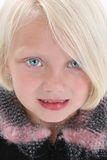 Schön wenig blond stockbild